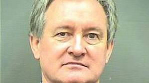 Mike Crapo, a Mormon who professes to abstain from alcohol, seen here in a mugshot from his DUI arrest after blowing a .11 blood alcohol level....