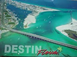 "The sign at the city line says ""Destin, Florida--Where white, middle-class Christians go to sit on the beach."""