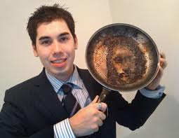 May we look as much like Jesus as this burnt frying pan. I assume they were cooking bacon.... The most heavenly meat.