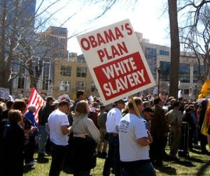 For the record, I am against white slavery.