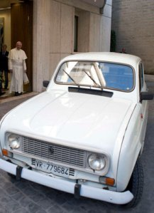 Pope's Renault