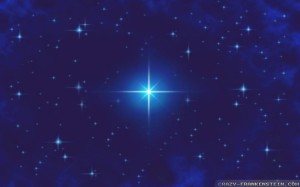 And the bright star is directly over Bethlehem…. NOW!