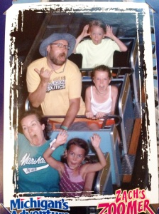 "SPOILER ALERT: My family and I TOTALLY get into Wonderland…. Notice my ""Ask me about my Religion & Politics T-Shirt."