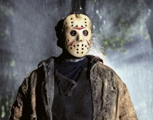 The Friday The 13th movies--single-handedly turning Hockey Goalie into the scariest position in sports….