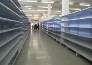 "The bread aisle at any Kroger in the South if a meteorologist says the word ""SNOW."""