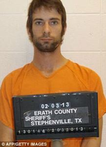 """Eddie Ray Routh, the man with PTSD who killed Chris Kyle and took his truck. Afterward, he told his sister, """"I traded my soul for a new truck."""""""