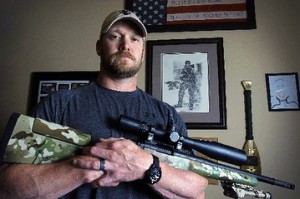 Chris Kyle, Husband and father of two....