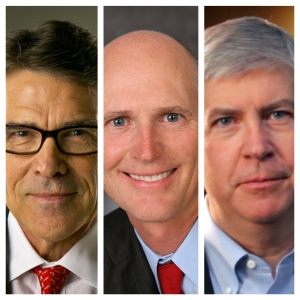 Governor Rick Perry, Governor Rick Scott, Governor Rick Snyder.... Why do we keep electing all these Dicks?