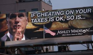 Something tells me Romney didn't okay the use of his image in this advertisement.
