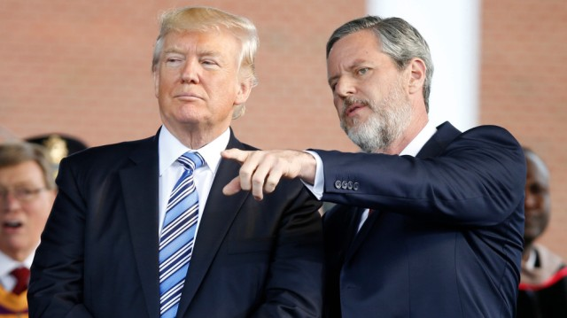 Donald Trump,Jerry Falwell Jr.